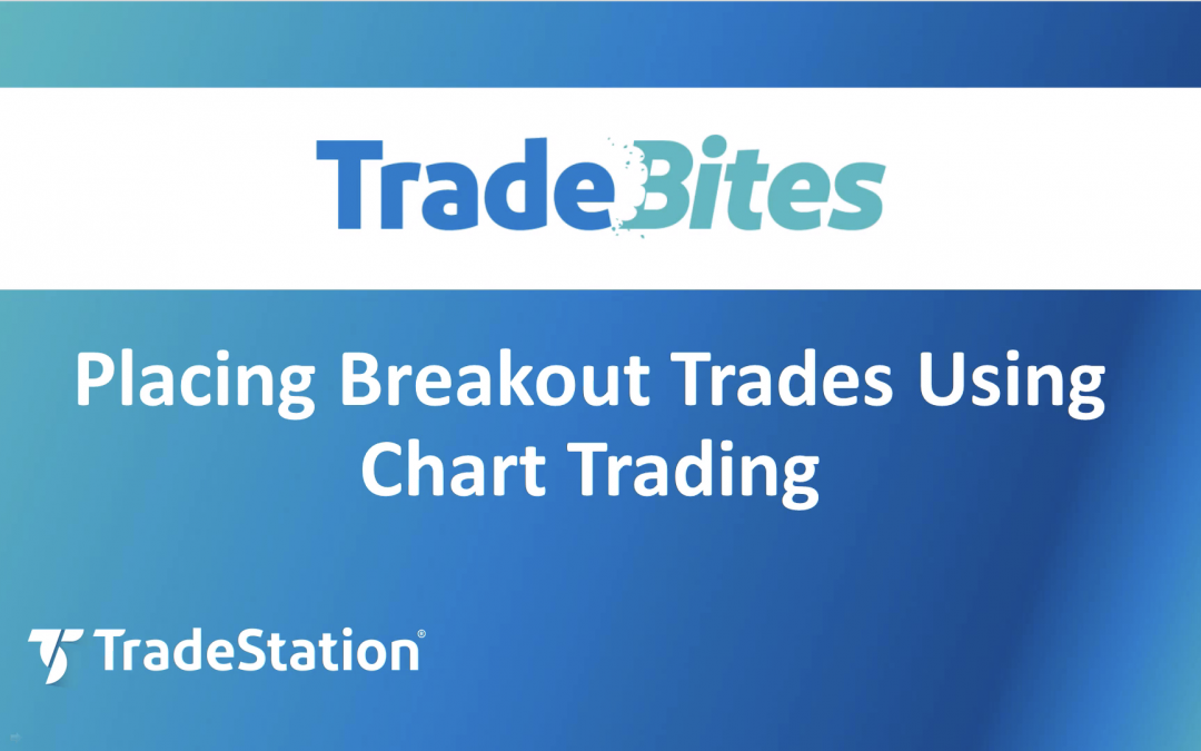 Placing Breakout Trades in a Chart