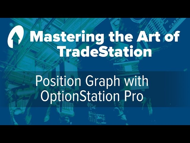 Mastering the Art of TradeStation:  Position Graph with OptionStation Pro