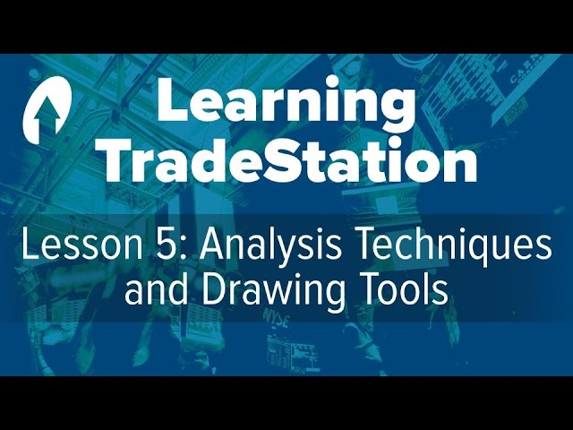 Learning TradeStation -  Lesson 5: Analysis Techniques and Drawing Tools