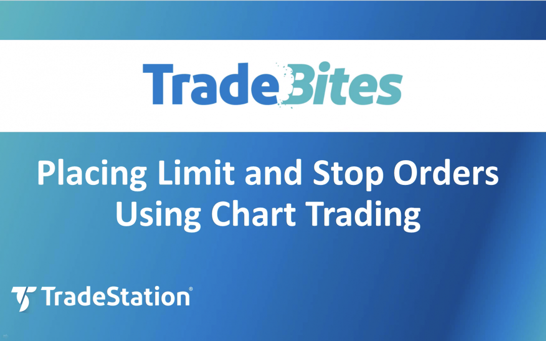 Limit and Stop Orders from a Chart