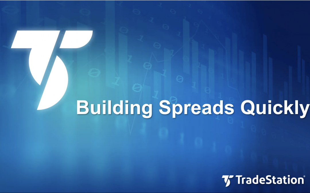 Building Spreads Quickly with OptionStation Pro