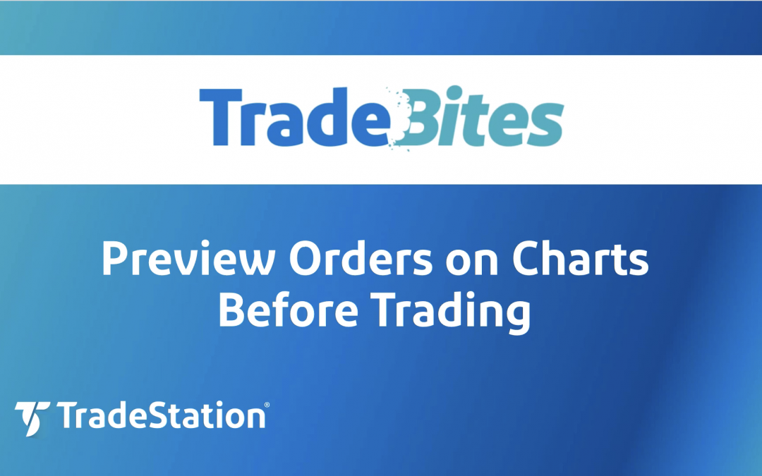 Preview Orders on a Chart