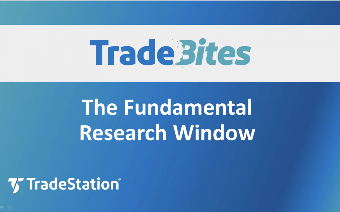 The Research Window