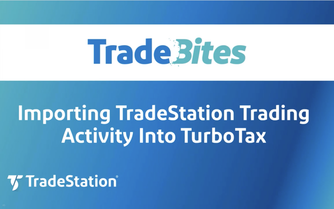 Importing Trading Activity Into TurboTax