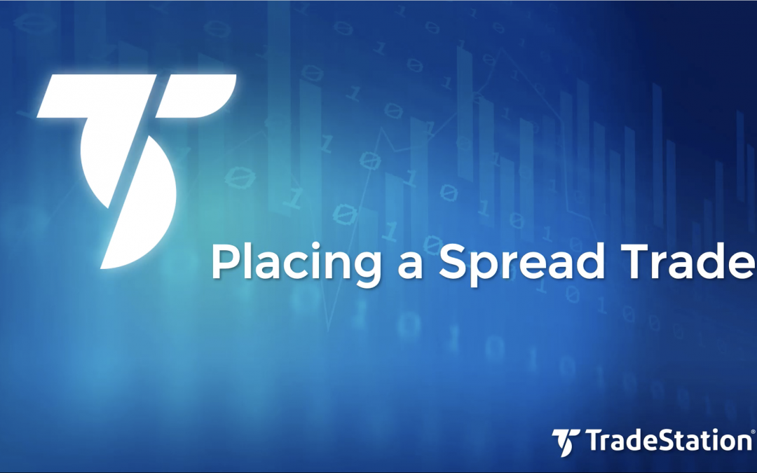 Placing a Spread Trade with OptionStation Pro