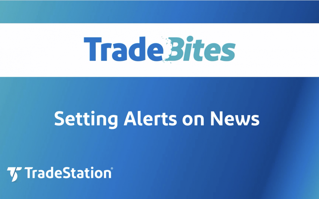 Setting Alerts on News