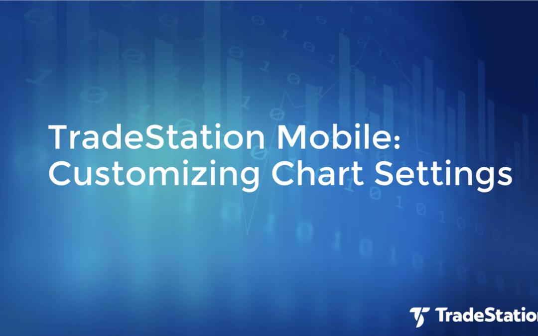 Customizing Your Chart Settings