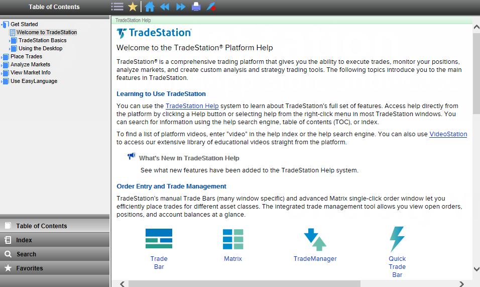 New TradeStation Platform Resource Center - TradeStation