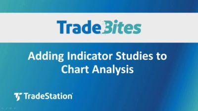 Adding Indicator Studies to Chart Analysis