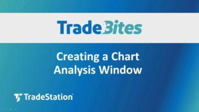 Creating a Chart Analysis Window