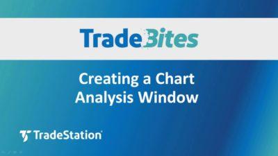 Creating a Chart Analysis Window