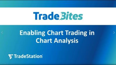 Enabling Chart Trading in Chart Analysis