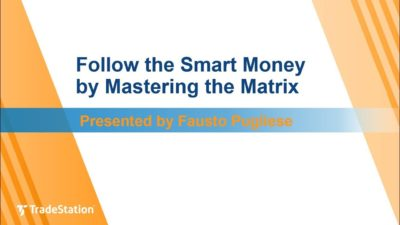 """Follow the Smart Money by Mastering the Matrix"" with Fausto Pugliese"