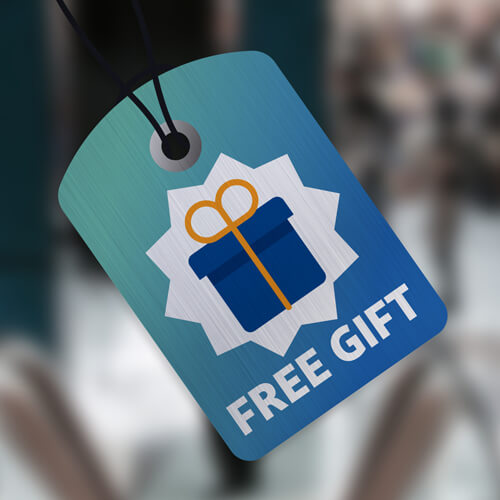 Receive a FREE Gift