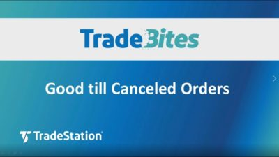 Good till Canceled Orders