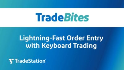 Lightning Fast Order Entry with Keyboard Trading