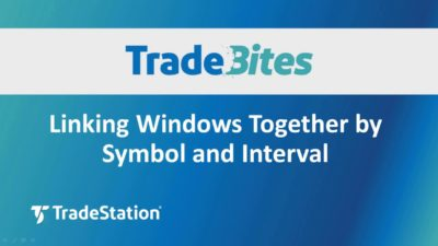 Linking Windows Together by Symbol and Interval