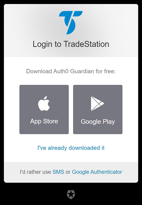 Login two-factor authentication download