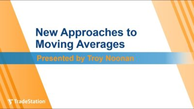 """New Approaches to Moving Averages"" with Troy Noonan"