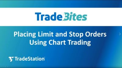 Placing Limit and Stop Orders using Chart Trading
