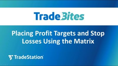 Placing Profit Targets and Stop Losses Using the Matrix