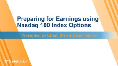 Preparing for Earnings using Nasdaq 100 Index Options