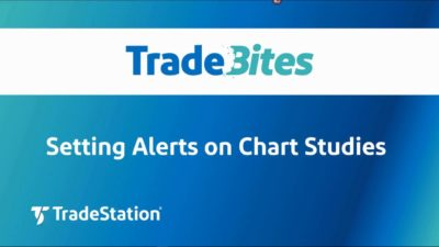 Setting Alerts on Chart Studies