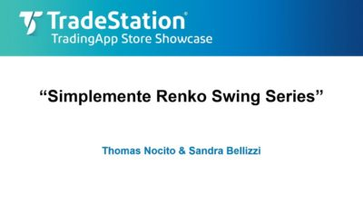 """Simplemente Renko Swing Trader Series"" with Tom Nocito"
