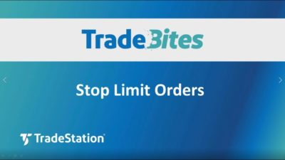 Stop Limit Orders
