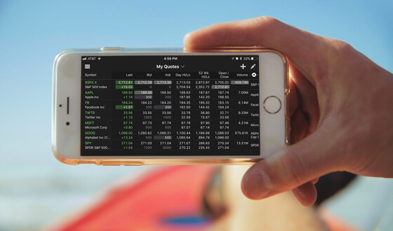 Mobile and Web Trading Apps