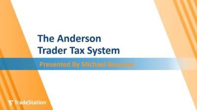 The Anderson Trader Tax System