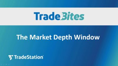 The Market Depth Window
