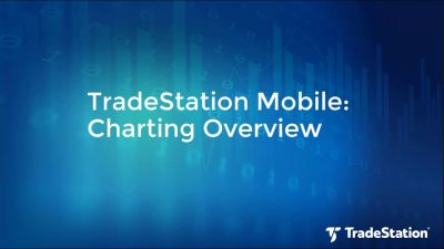 TradeStation Mobile Demo: Real-time Chart Trading