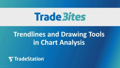 Trendlines and Drawing Tools in Chart Analysis