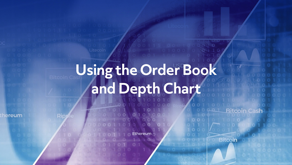 TradeStation Crypto – Using the Order Book and Depth Chart