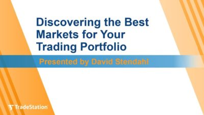 """Discovering the Best Markets for Your Trading Portfolio"" with David Stendahl"