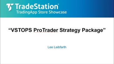 VSTOPS ProTrader Strategy Package